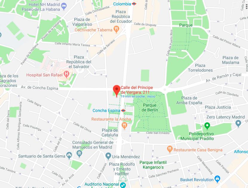 Fisioterapia Madrid Centro